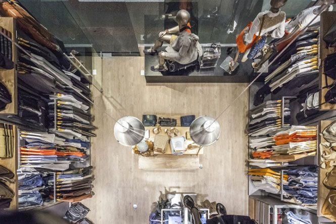 Thiết kế showroom thời trang đẹp ấn tượng