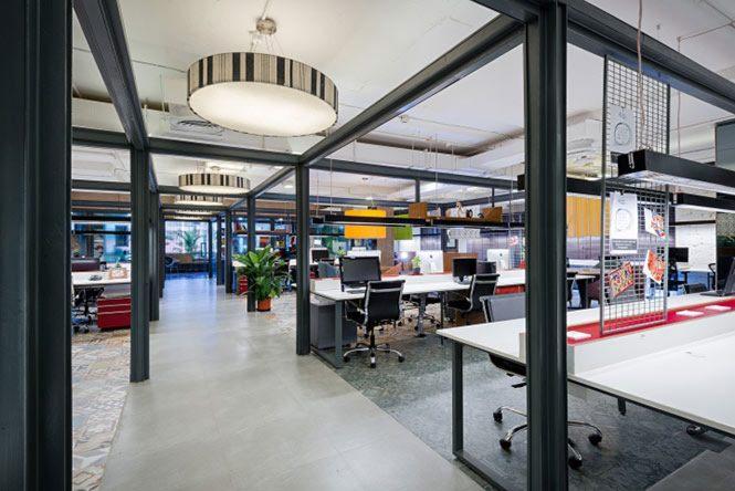 Thiết kế văn phòng đẹp phong cách hiện đại