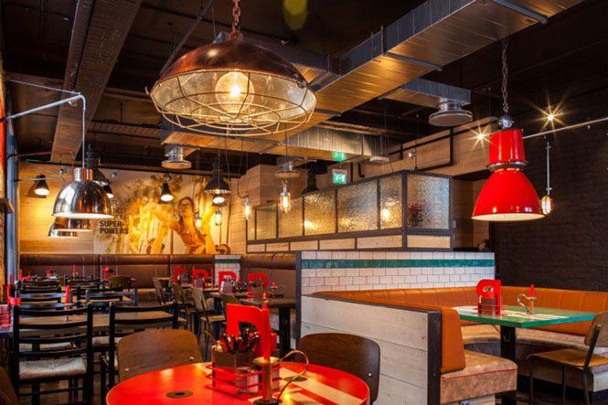 Một không gian sáng tạo sẽ mang tới nét cá tính riêng có của nhà hàng