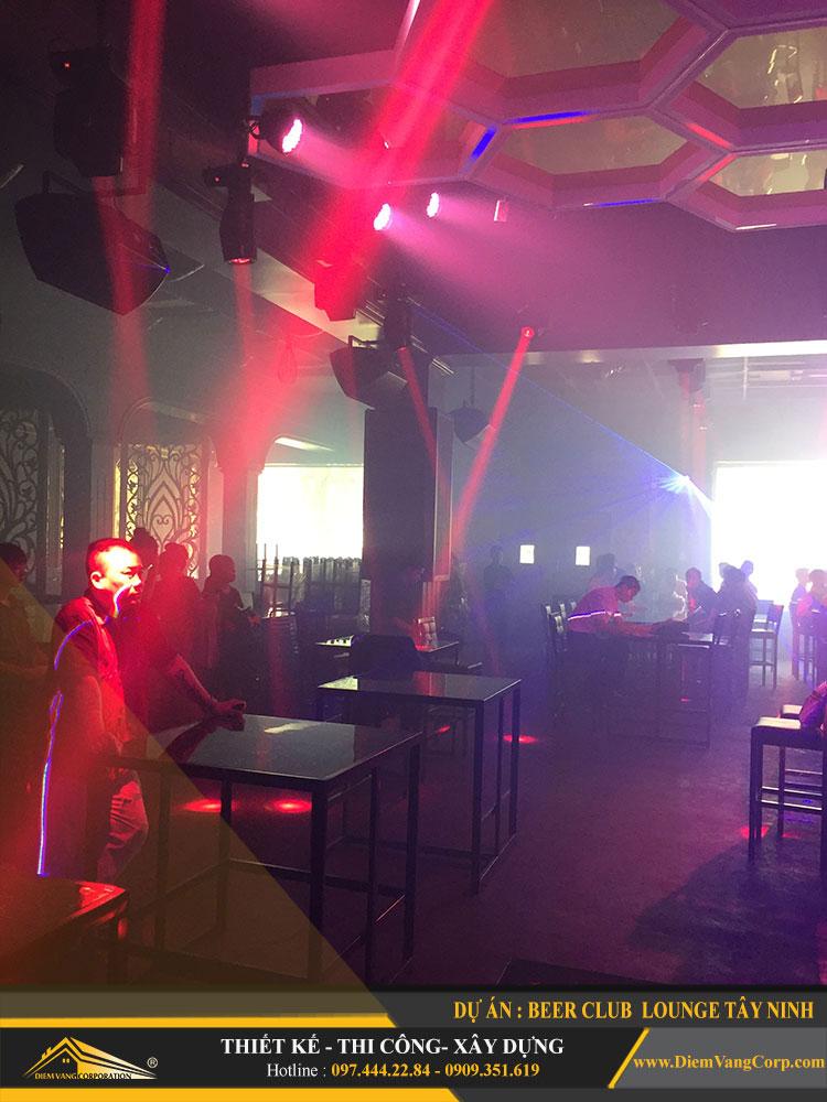 thi công công trình Lounge Beer Club Tây Ninh 13