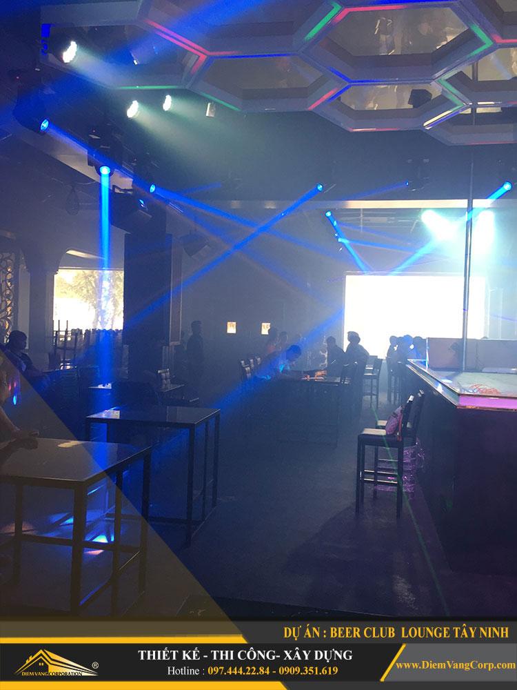 thi công công trình Lounge Beer Club Tây Ninh 19
