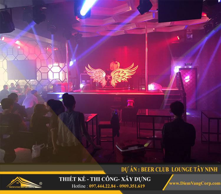 thi công công trình Lounge Beer Club Tây Ninh 17