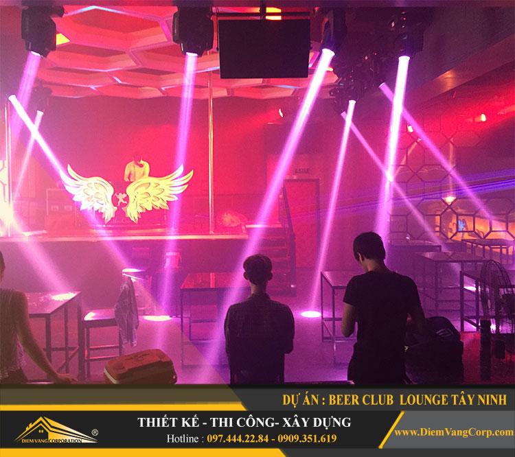 thi công công trình Lounge Beer Club Tây Ninh 18