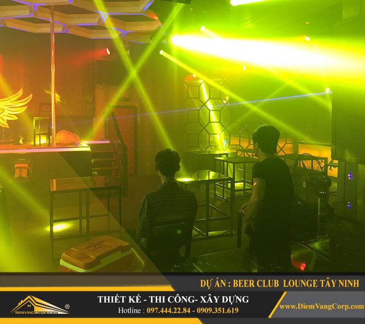 thi công công trình Lounge Beer Club Tây Ninh 20