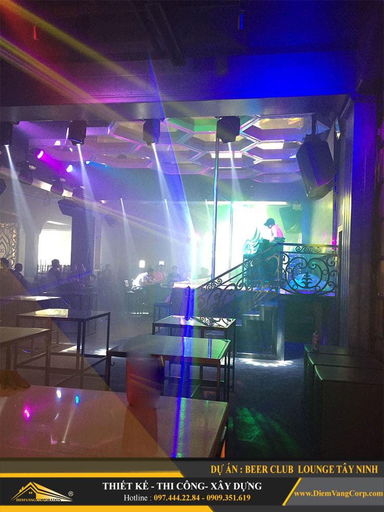 Hình ảnh thực tế thi công công trình Lounge Beer Club Tây Ninh 1