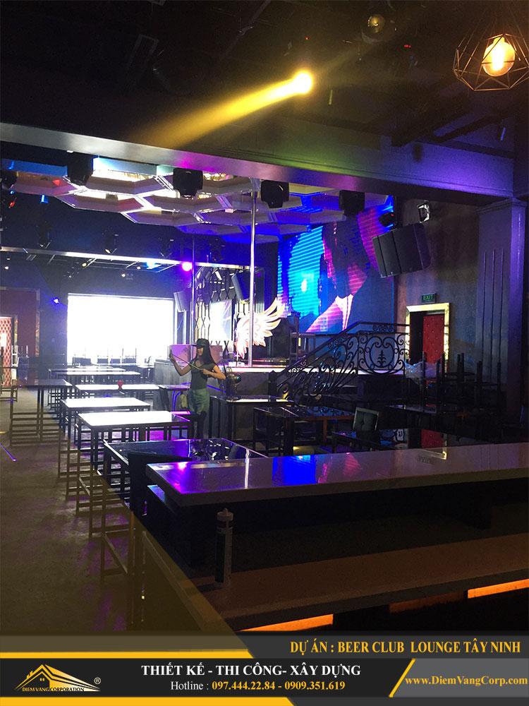 thi công công trình Lounge Beer Club Tây Ninh 26