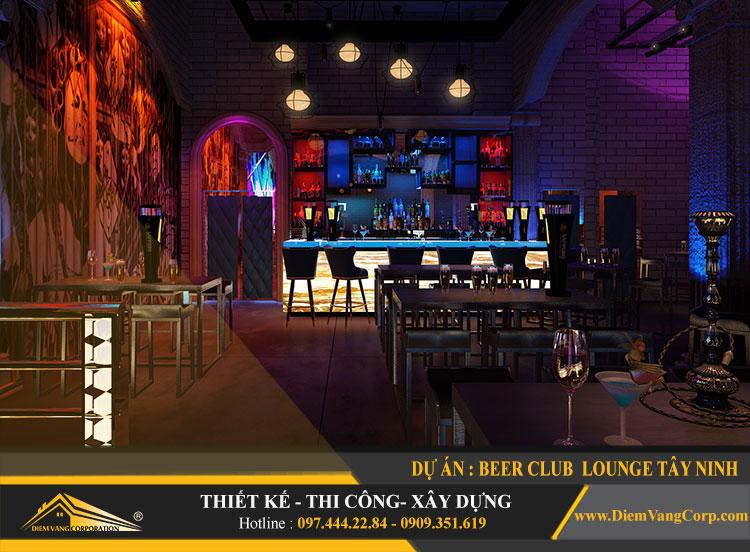 thi công công trình Lounge Beer Club Tây Ninh 2