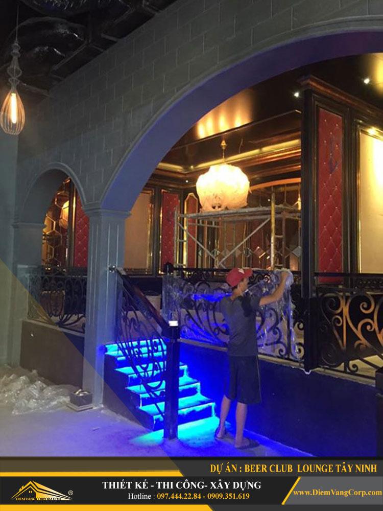 thi công công trình Lounge Beer Club Tây Ninh 3