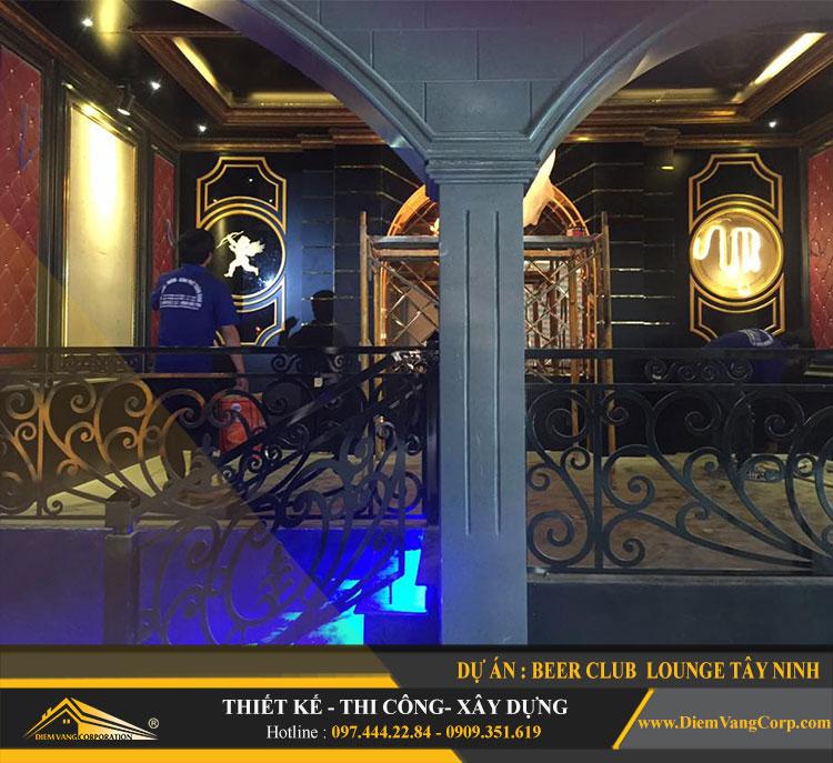 thi công công trình Lounge Beer Club Tây Ninh 4