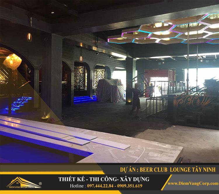thi công công trình Lounge Beer Club Tây Ninh 5