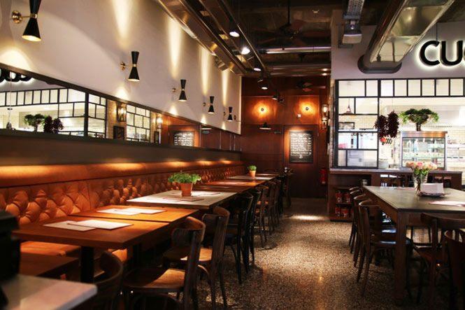 ý tưởng cho không gian nhà hàng 1