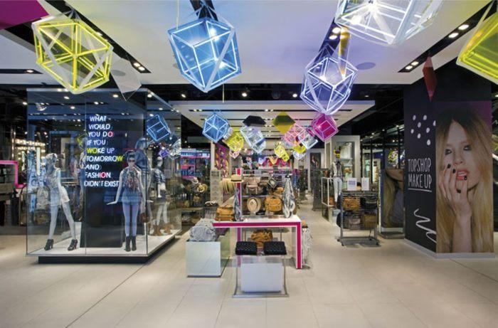 Topshop Oxford Circus trung tâm thời trang đẹp ấn tượng 1