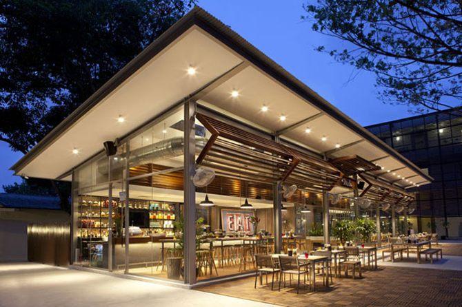 thiết kế quán cafe , quán ăn đẹp 1