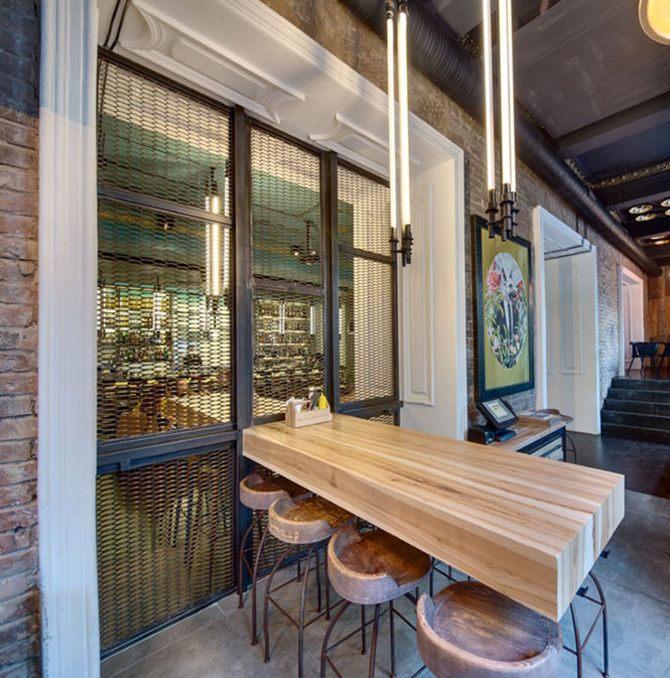 Phong cách cổ điển Rustic là sự kết hợp giữa yếu tố hiện đại và kiến trúc 1