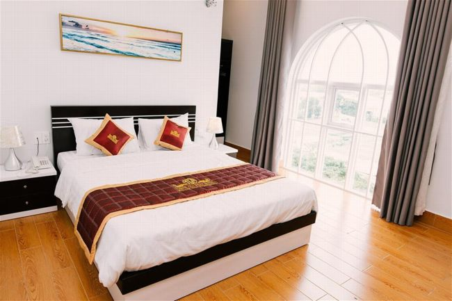 chiêm ngưỡng những nét bán cổ điển với thần thái sang trọng và hiện đại của khách sạn Thinh Gia Phat Hotel