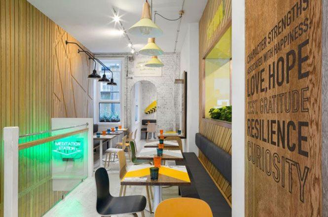 Thiết kế nội thất nhà hàng đẹp ấn tượng 1