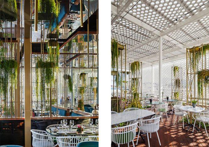 Hình ảnh thiết kế nhà hàng,phong cách hiện đại 1