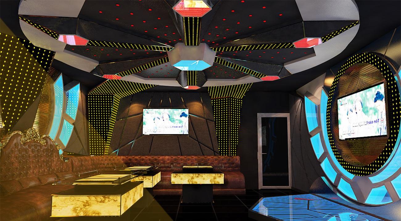mẫu phòng karaoke hiện đại 2