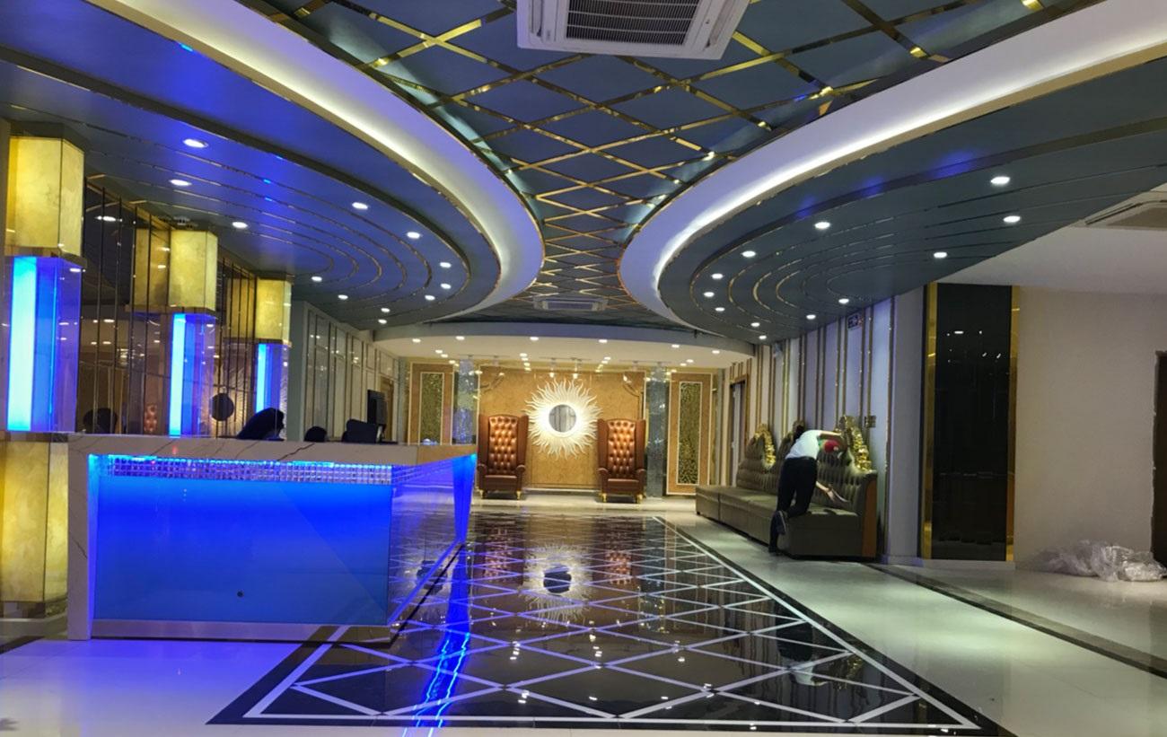 hình ảnh thiết kế 3D phòng karaoke , sảnh karaoke đẹp