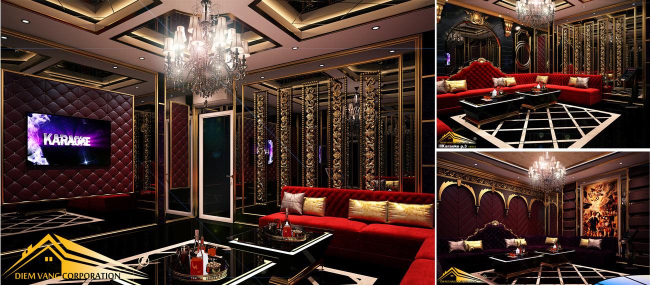 Thiết kế phòng karaoke 3D Ảnh Full chất lượng cao 90