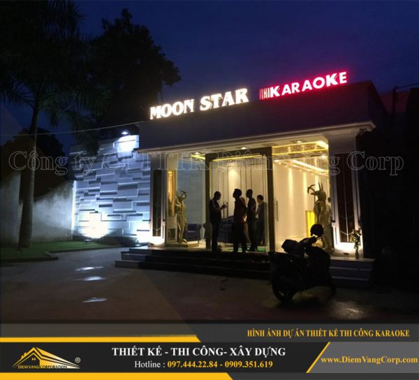 ý tưởng thiết kế thi công phòng karaoke hút khách và thành công 2