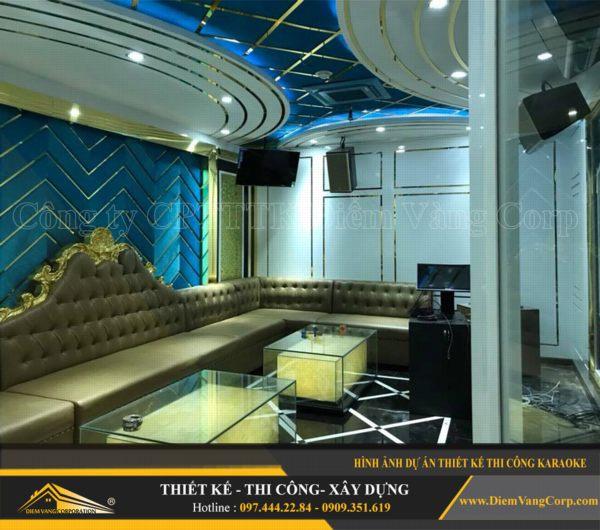 ý tưởng thiết kế thi công phòng karaoke hút khách và thành công 5
