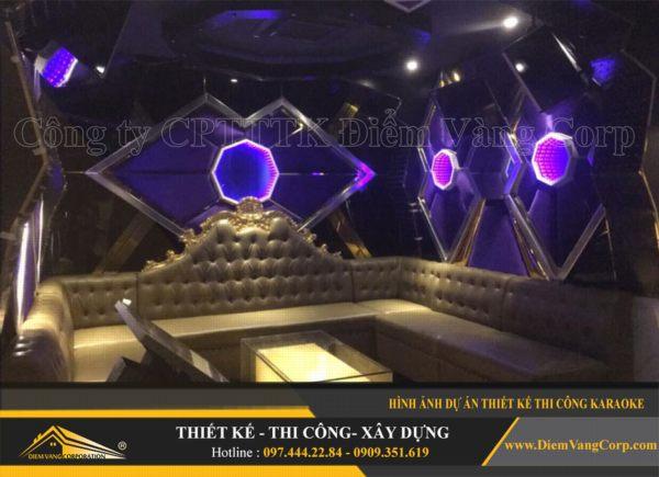 ý tưởng thiết kế thi công phòng karaoke hút khách và thành công 6