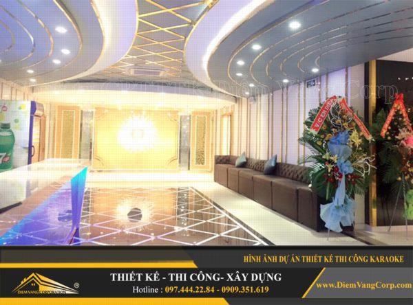 ý tưởng thiết kế thi công phòng karaoke hút khách và thành công 7
