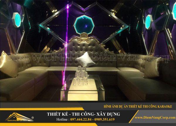 ý tưởng thiết kế thi công phòng karaoke hút khách và thành công 8