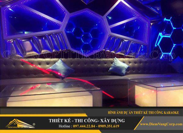 ý tưởng thiết kế thi công phòng karaoke hút khách và thành công 12