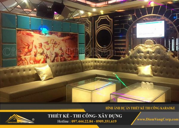 ý tưởng thiết kế thi công phòng karaoke hút khách và thành công 19