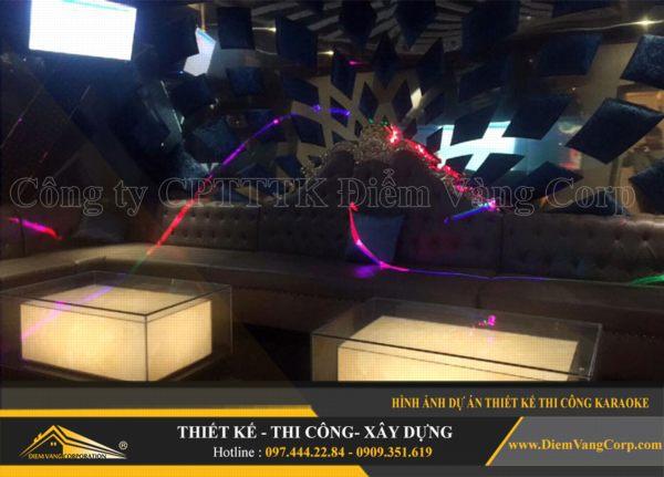 ý tưởng thiết kế thi công phòng karaoke hút khách và thành công 20
