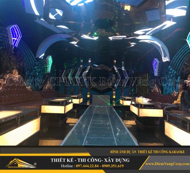 Phòng karaoke Vip,Thiết kế phòng karaoke VIP Led hiện đại 11