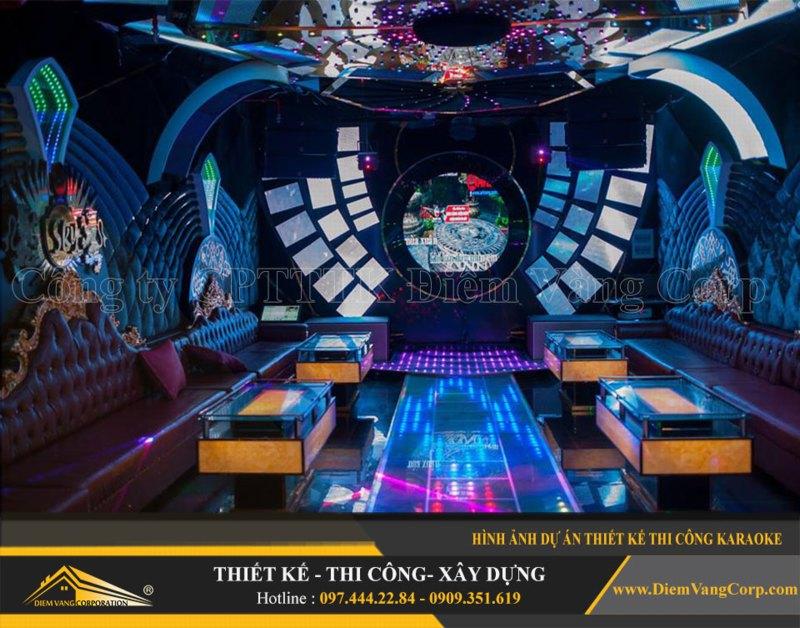 Phòng karaoke Vip,Thiết kế phòng karaoke VIP Led hiện đại 5