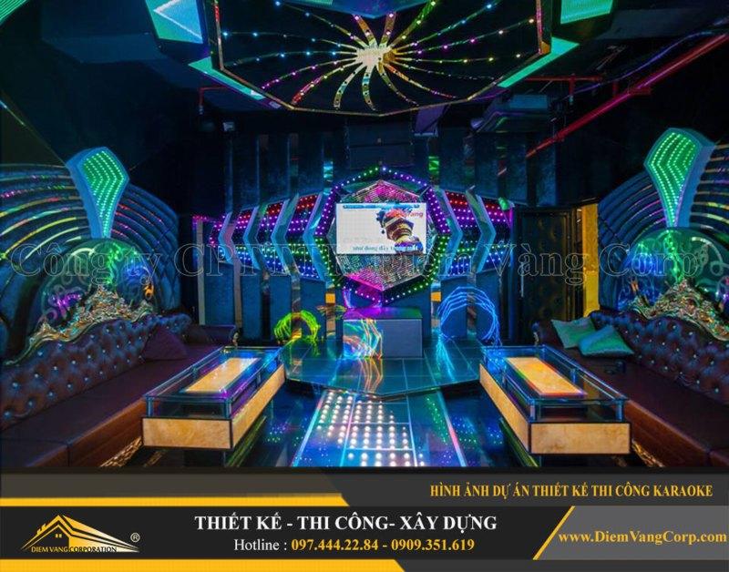 Phòng karaoke Vip,Thiết kế phòng karaoke VIP Led hiện đại 6