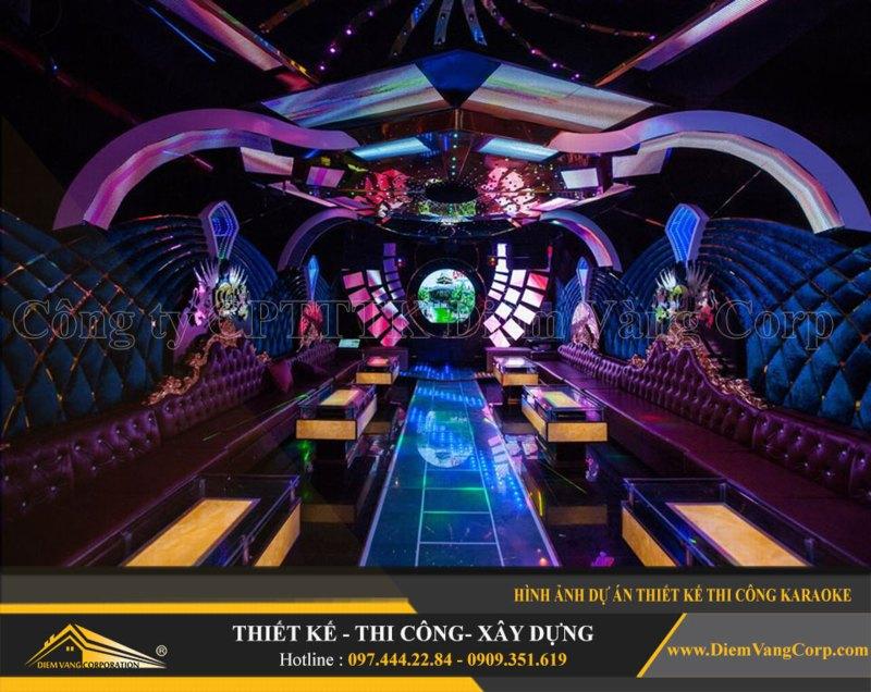 Phòng karaoke Vip,Thiết kế phòng karaoke VIP Led hiện đại 7