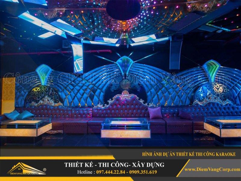 Phòng karaoke Vip,Thiết kế phòng karaoke VIP Led hiện đại 8