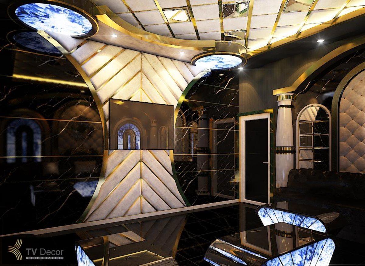 Thiết kế phòng karaoke tại miền tây Phong cách Tân Cổ Điển 4